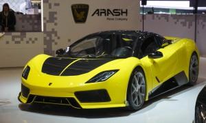 Auto Show de Ginebra 2016: Arash AF8 Cassini, poder y belleza.