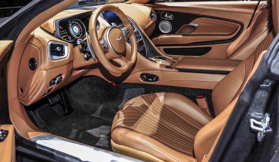 Auto Show De Ginebra 2016 Aston Martin Db11 2017 Hermoso