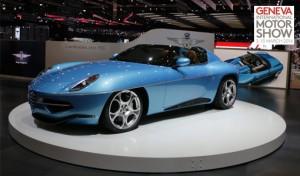 Salón De Ginebra 2016: Alfa Romeo Carrozeria Touring Superleggera Disco Volante Spider
