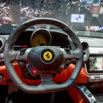 Interior del Ferrari GTC4Lusso