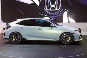Auto Show de Ginebra 2016: Honda Civic Hatchback Prototype.