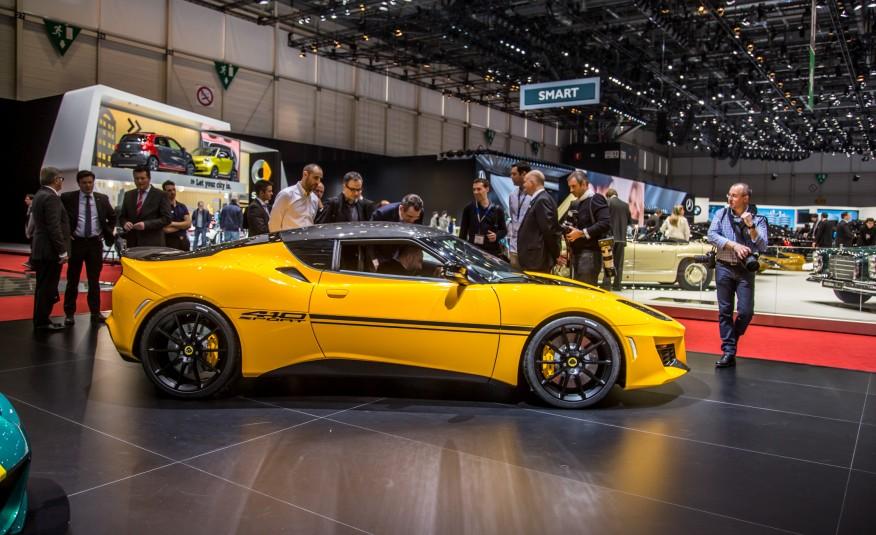 Auto Show de Ginebra 2016: Lotus Evora Sport 410, más liviano y más ...