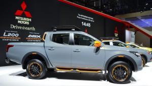Auto Show de Ginebra 2016: Mitsubishi L200 Geoseek Concept, listo para la aventura.