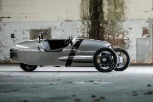 Auto Show de Ginebra 2016: Morgan EV3, un eléctrico raro y distinto