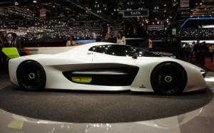 Auto Show de Ginebra 2016: Pininfarina H2 Speed, un prototipo de hidrógeno.