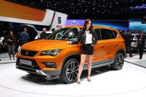 Auto Show de Ginebra 2016: Seat Ateca