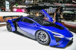 Auto Show de Ginebra 2016: TechRules Supercar EV, un chino eléctrico de 1.030CV.
