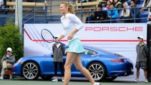 Porsche suspende patrocinio a Maria Sharapova