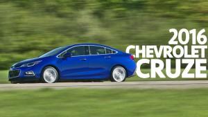 Chevrolet Cruze Sedán 2016: más deportivo, ágil y seguro.