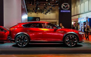 Mazda CX-4, una nueva atractiva y elegante SUV.