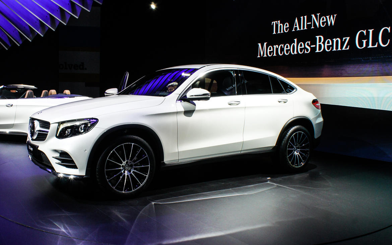 Auto Show de Nueva York 2016: Mercede Benz GLC Coupé ...