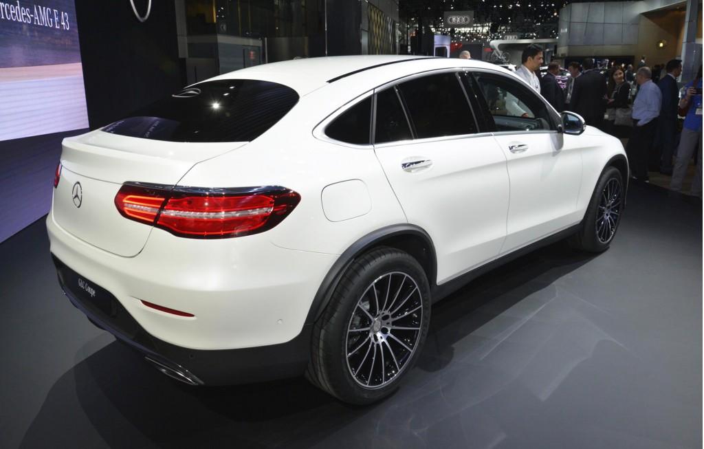 Auto show de nueva york 2016 mercede benz glc coup for Mercedes benz glc precio