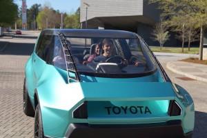 Toyota uBox Concept, el auto eléctrico para la próxima generación.