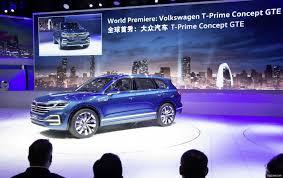 Volkswagen T-Prime Concept GTE, un súper Touareg pero híbrido enchufable y digitalizado.