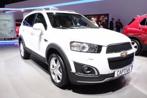 Chevrolet Captiva 2016:espaciosa y económica.
