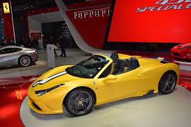 Ferrari 458 Speciale Aperta: 605CV para disfrutar a cielo abierto.