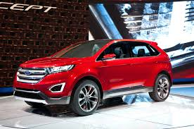 Ford Edge 2016: renovada, segura y confortable.