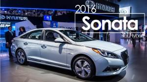 Hyundai Sonata Hybrid 2016: ahora más potente y más eficiente