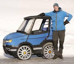 PodRide, la bicicleta convertida en auto.