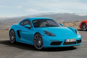 Porsche 718 Cayman 2017: renovado y mejorado.
