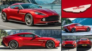 Aston Martin Vanquish Zagato: solo 99 exclusivas unidades.