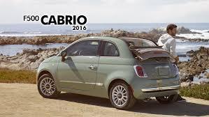 Fiat 500 Convertible 2016: diseño, diversión y lujo.