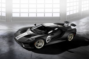 Ford GT '66 Heritage Edition 2017, en honor a Le Mans.