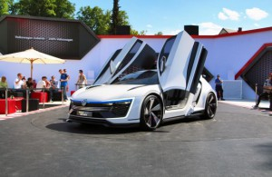 Volkswagen GTE Sport Concept Car: un híbrido más radical