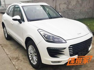 Zotye SR8, la copia china del Porsche Macan.