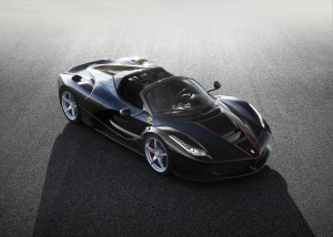 Ferrari LaFerrari Spider: solo 70 unidades solo para millonarios.