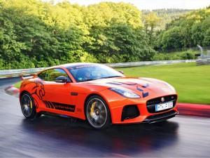 ¿Quiere probar un Jaguar F-Type SVR en Nürburgring?