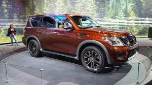 Nissan Armada 2017: mejorada y más interesante.