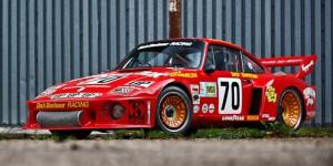 Subastarán el Porsche 935 1979 de competición de Paul Newman.