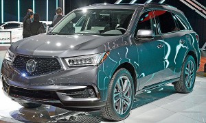 Acura MDX 2017: renovada y mejorada.