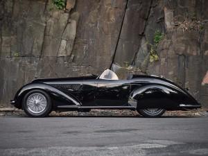 Subastarán un Alfa Romeo 8C Spider de 1939, su precio será histórico.