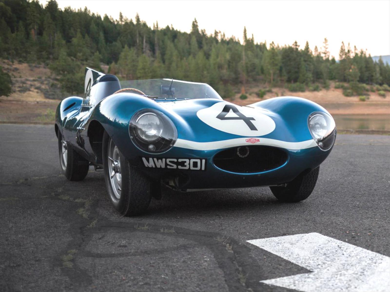 Subasta De Autos >> El Jaguar D-Type 1955 es el auto inglés más caro del mundo ...
