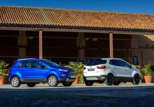 Ford EcoSport 2016: deportiva, juvenil y moderna.