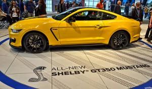 Mustang Shelby GT350 2017: ahora con mayor capacidad deportiva.