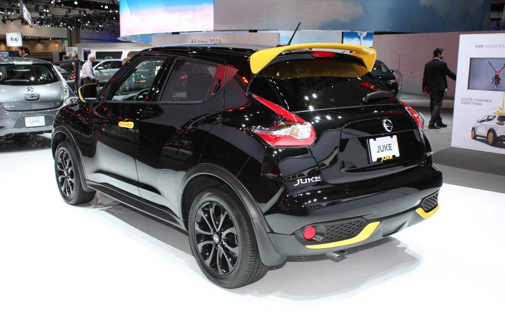 nissan juke rs nismo 2016 m s divertido y m s radical lista de carros. Black Bedroom Furniture Sets. Home Design Ideas