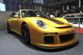 Ruf RT-12: un Porsche 911 con más poder y más aceleración.