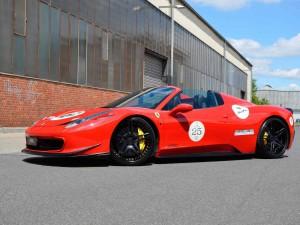 Ferrari 488 Spider por MEC Design: mucho más especial.