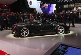 Auto Show de París 2016: Ferrari LaFerrari Aperta, el convertible más rápido de la historia italiana.