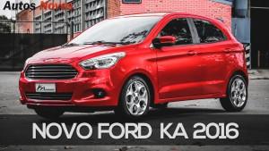 Ford Ka 2016: El más chico ahora tiene mayores dimensiones.