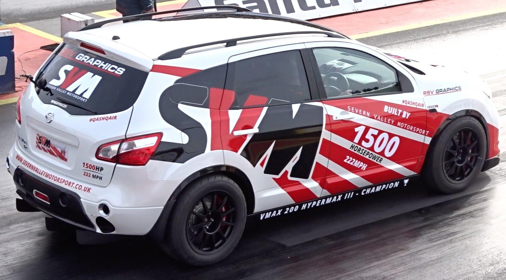 ¿Quieres ganarte este Nissan Qashqai GT-R con 1,500CV ...