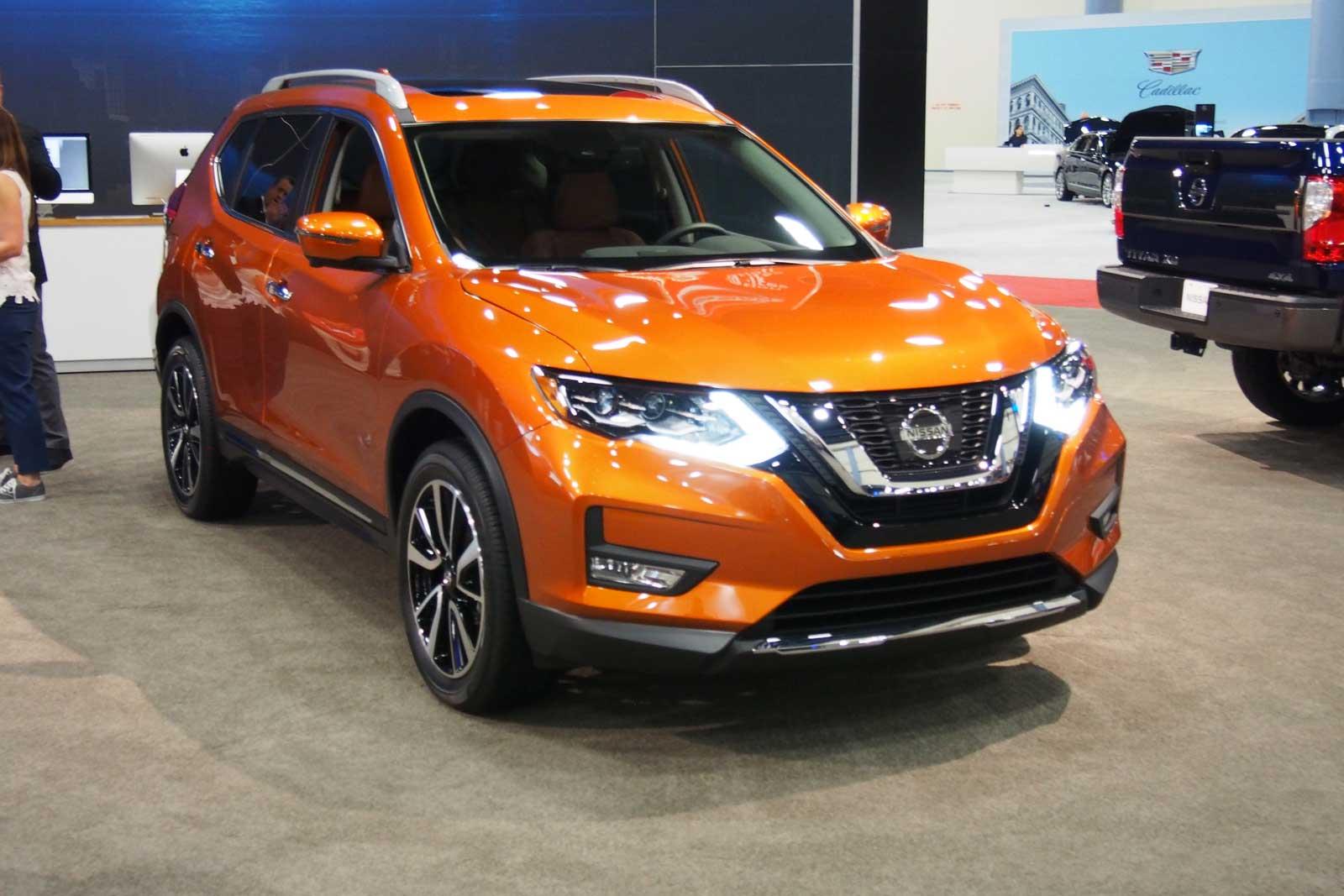Auto Show De Miami 2016 Nissan Rogue 2017 Nueva Cara Y