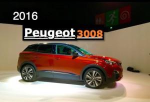 Peugeot 3008 2016: ahora más SUV y más interesante.