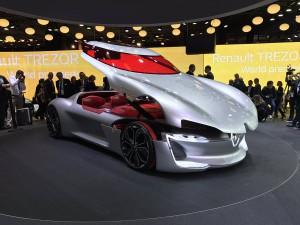 Salón de París 2016: Renault Trezor Concept, así serán los futuros Renault.