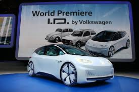 Auto Show de París 2016: Volkswagen I.D Concept: un eléctrico muy interesante.