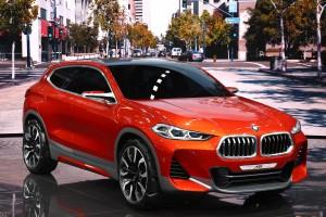 Auto Show de París 2016: BMW X2 Conceptual.