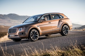 Bentley Bentayga 2017: La primera SUV de Bentley.